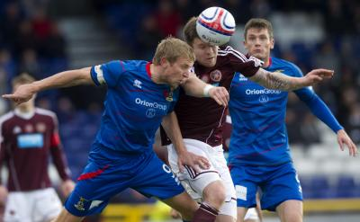 Inverness CT 1 Hearts 1