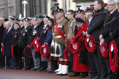 LEST WE FORGET: Veterans, service men and women, royalty and politicians from across the board joined the public in remembering those who gave the ultimate sacrifice for their country.