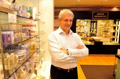 SCENT OF ACHIEVEMENT: Iain Pittman, executive chairman of Arran Aromatics, expects the company to match the strong performance it reported last year.  Picture: Nick Ponty