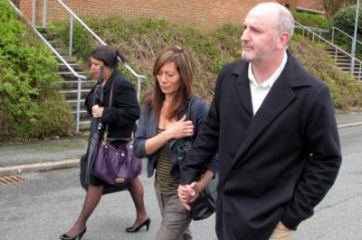 COURT APPEARANCE: Anna Ryder Richardson had been due to stand trial alongside her husband Colin MacDougall.