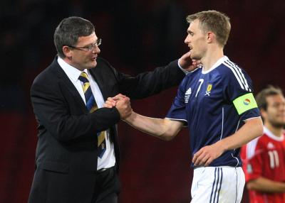 Darren Fletcher struck up a close relationship with Craig Levein
