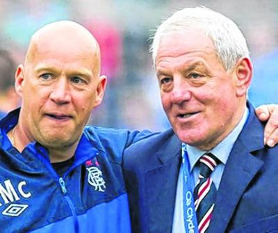 Kenny McDowall is reassured by the return of Walter Smith