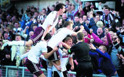 Hearts supporters have rallied around their stricken club
