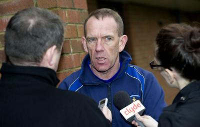 Kenny Shiels had angered Willo Flood with his comments