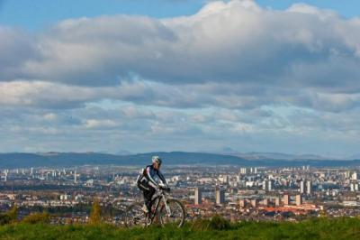Rab Wardell is a big fan of the circuit at Cathkin Braes   Photograph: Nick Ponty