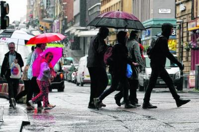 GLOOMY: Shoppers spent less in October on food, non-food and clothing items. Picture: Colin Mearns