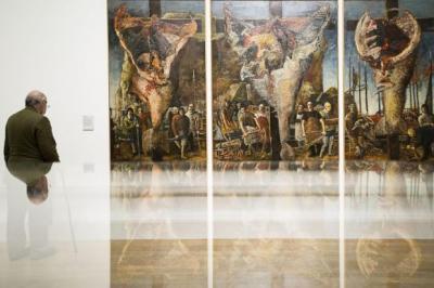John Bellany's 1964 triptych Allegory