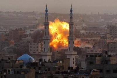 Gaza has come under heavy bombardment from Israel in retaliation for rockets fired by Hamas