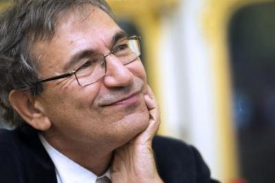 Author Orhan Pamuk