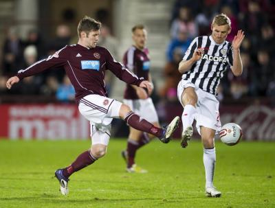 Hearts 1 St Mirren 0