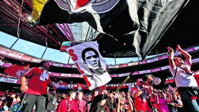 The ubiquitous presence of Eusebio reminds Benfica fans of better times