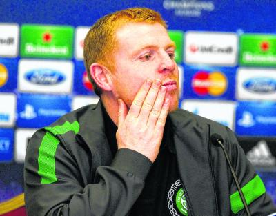 Neil Lennon has rebuffed alleged criticisms of his side's playing style. Picture: SNS