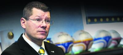 Neil Doncaster was in positive mood after the SPL clubs met