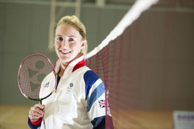 Imogen Bankier is critical of the lack of flexibility in the GB badminton programme. Picture: Martin Shields