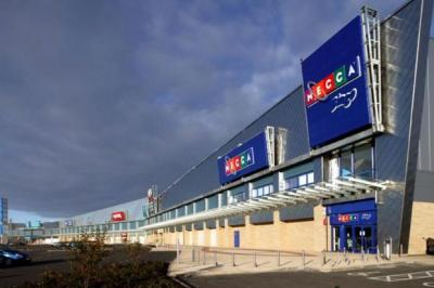PROGRESS: Glasgow Fort shopping centre's cinema and restaurant will open next September.