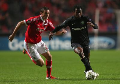 Defeat by Benfica has not dented Efe Ambrose's confidence