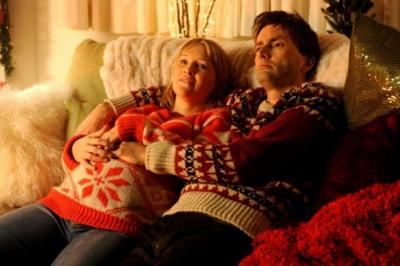 FAMILY VALUES: Joanna Page co-stars with David Tennant in Nativity 2: Danger in the Manger!