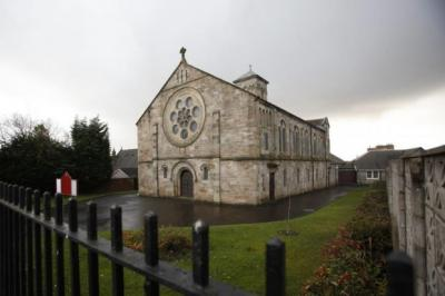 ROW: Flowerhill Parish Church in Airdrie is at centre of controversy. EXCLUSIVE: How The Herald revealed news of the investigation.