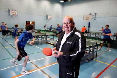 Billy Main only founded his North Ayrshire TTC in 2003 but already it is the most successful in Scotland. Picture: Martin Shields