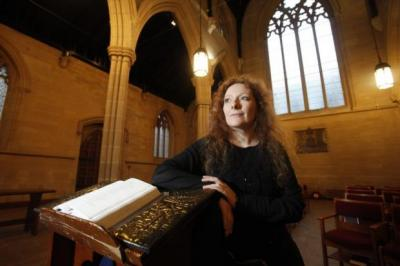 CONCERNED: Joan Dillon, founder of Scotland's Academy of Sacred Music, believes young people can be lifted up by music's transformative power. Picture: Mark Gibson