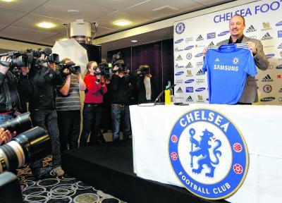 Rafael Benitez  has some bridges  to build at Chelsea