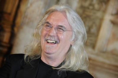 BIG YIN: Billy Connolly has no plans to take life easier, despite turning 70 today.