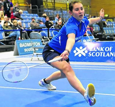 Kirsty Gilmour is the sole Scottish singles survivor. Picture: SNS