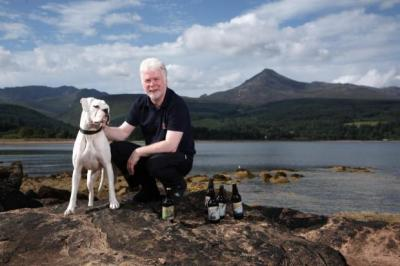TOP DOG: Isle of Arran Brewery owner Gerald Michaluk said the new site will be able to handle multiple yeasts so mead, cider and fruit wines can be produced. Picture: Kevin Gibson