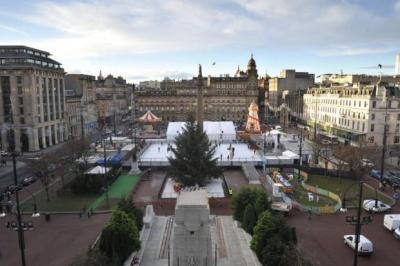 NEW LOOK: Firms bidding to revamp George Square include the designers of New York's High Line park and the architects behind the restoration of Glasgow School of Art.