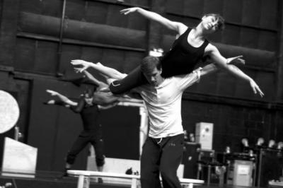 A TALE WITH TWISTS: Matthew Bourne's Sleeping Beauty in rehearsal.
