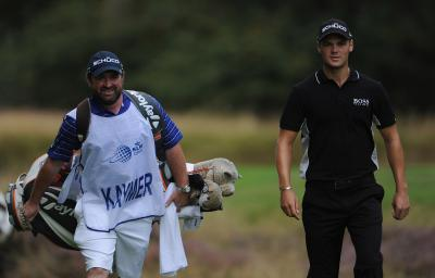 Martin Kaymer, right, and his Scottish caddie Craig Connelly will be regulars on the PGA Tour next year. Picture: Getty Images