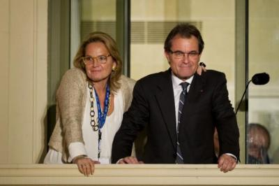 ARTUR MAS: Centre-right leader hopes to hold independence poll.