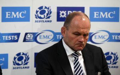 Andy Robinson was bemused by the players' inability to implement the game-plans against both South Africa and Tonga. Picture: Getty Images