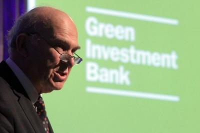 GOING FOR GREEN: Business Secretary Vince Cable at the launch yesterday. Picture: Stewart Attwood