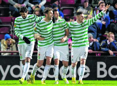 Hearts 0 Celtic 4