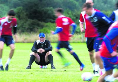 Terry Butcher is confident his Inverness squad are well prepared for today's derby