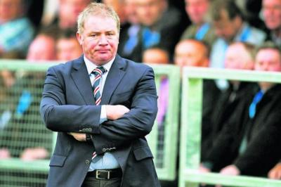 Ally McCoist would like to see a better working relationship between referees and managersPhotograph: SNS