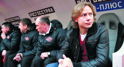 Valery Karpin has returned to the dugout for Spartak Moscow