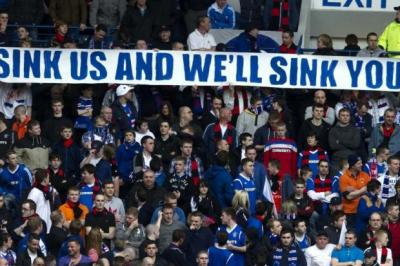 Rangers fans claim their non-attendance  will send a message