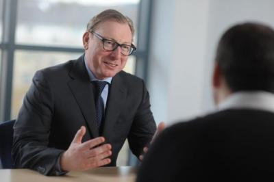 HOT SEAT: Former RBS executive Benny Higgins runs Tesco Bank.