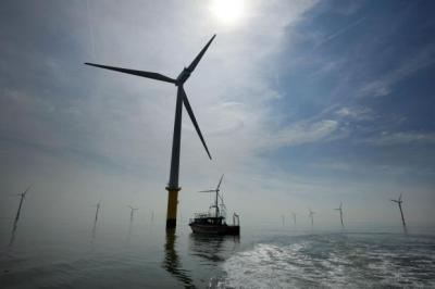 MAKING WAVES: The chief of RWE npower renewables predicts more offshore wind farms will be built.