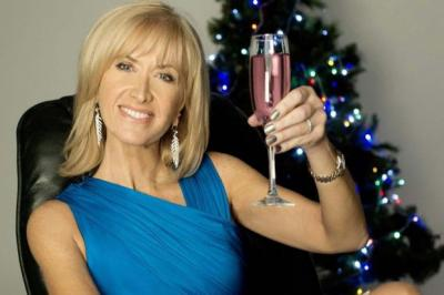 BRAVE FACE: Jackie Bird will be broadcasting and seeing in the New Year with revellers on Princes Street following a very tough 2012. Picture: PA
