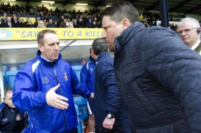 Paulo Sergio refused to shake hands with Kenny Shiels on Saturday after the Kilmarnock manager had commented on Hearts earlier in the week. Picture: SNS