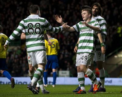 Celtic 2 Dunfermline 0