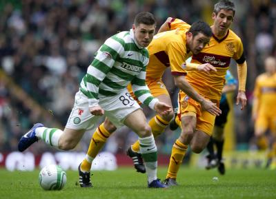 Celtic 1 Motherwell 0