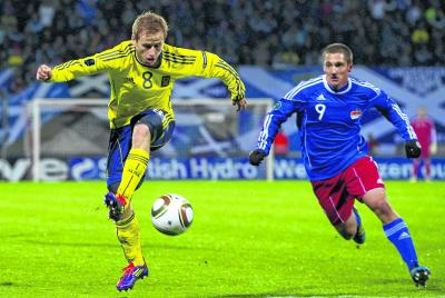 Barry Bannan has  made an impact in his early appearances for Scotland. Picture: SNS