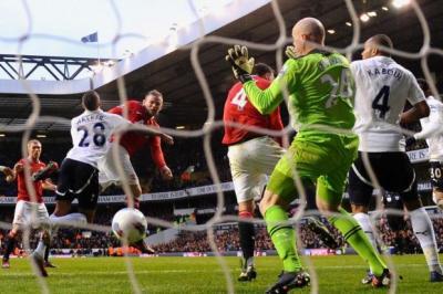 Tottenham Hotspur 1 Manchester United 3