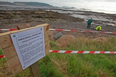 Dalgety Bay in Fife, centre of a radiation controversy