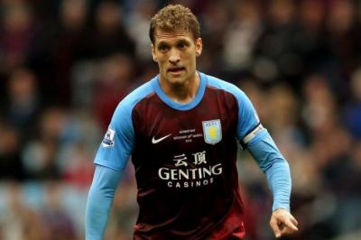 leader: Aston Villa captain Stiliyan Petrov was diagnosed after developing a fever. Picture: Getty Images