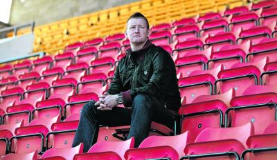 Steve Lomas had only managed at  non-league level when he was given the St Johnstone job. Picture: Steve Cox